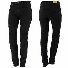 Richa Nora Mujer Moto Ce APROBADO Aramid Jeans - Negro