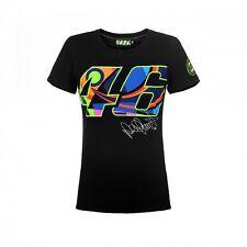 VR46 Offiziell Valentino Rossi marineblau Damen T-Shirt - vrwts 260804