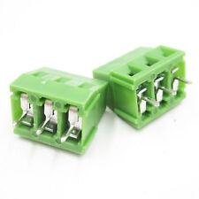10/20pcs PCB Screw Terminal Block Connector KF128-3P 5mm KF128 3PIN