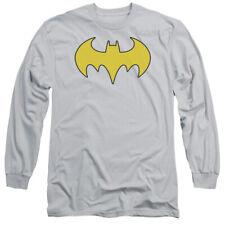 DC BAT GIRL LOGO T-Shirt Men's Long Sleeve