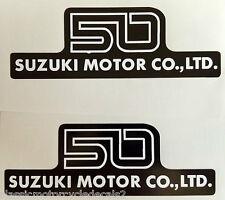 SUZUKI AP50 AP50B SIDE PANEL DECALS