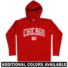 Chicago 773 Hoodie - Illinois IL Bulls Blackhawks Cubs White Sox Fire  Men S-3XL