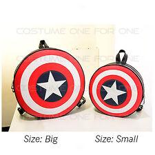 Marvel Avengers Captain America Shield Backpack Bag Shoulder Bag New