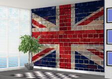 Union Jack Graffiti brick Wallpaper wall mural wall art (15194918) Great Britian