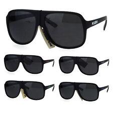 Kush Pot Head Marijuana Mob Racer Plastic Aviator Sport Sunglasses