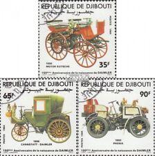 Dschibuti 424-426 (kompl.Ausg.) gestempelt 1984 Gottlieb Daimler EUR 3,20