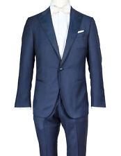 Caruso Tuxedo in Dark Blue from Super 130'S Wool Reg