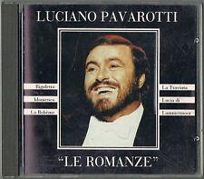 PAVAROTTI - LE ROMANZE, RIGOLETTO, IDOMENEO, LA TRAVIATA, LA BOHEME, LUCIA..- CD