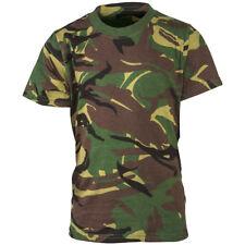 Highlander Tactical Army Combat Cotton T-Shirt Mens Hunting Top British DPM Camo