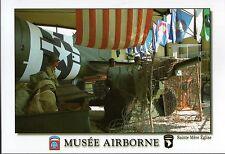 CP WW2 - Ste-Mère-Eglise - Dakota et canon aéroporté au Musée Airborne