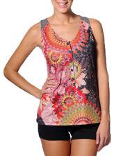 Smash Barcelona S-XXL UK 10-18 RRP ?41.50 Nutria Vest Top Bright Floral