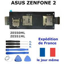 Lecteur Carte SIM Micro SD ASUS ZENFONE 2  ZE551ML, ZE550ML Nappe Flex Mémoire