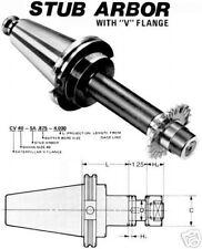 """BT 50 1"""" STUB ARBOR ADAPTER TOOL HOLDER 4""""L (BT50)"""