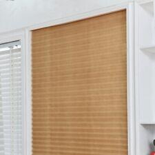 UK Living Room Kitchen Oriel Window Thick Non-Woven Fabric Decor Pleat Curtain