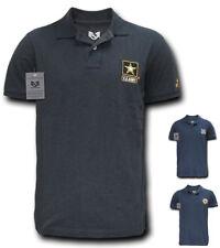 Rapid Choice Polo Lightweight Military Air Force Marine Navy Army T-Shirts Tees