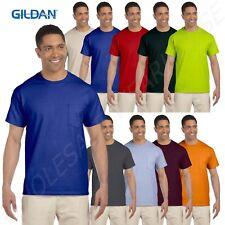 Gildan Short Sleeves Ultra Cotton 6 oz BIG SIZE 2XL-5XL Pocket T-Shirt BG230
