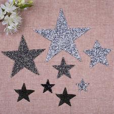 Star Motifs Clothing Accessories Rhinestone Patches Hotfix Pentagram Sticker