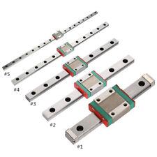 12mm Miniature Linear Rail Slide Block CNC 3D Printer 100/150/200/300/450mm ark
