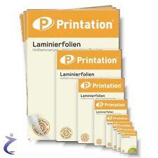 Laminierfolien A3/A4/A5/A6/A7/86x54/60x90/65x95/Vistenkarten Laminiertaschen