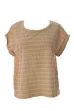 SURFACE TO AIR Women's Burnt Sienna Brava Shirt $130 NEW
