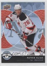 2007-08 Upper Deck Mini Jersey Collection 58 Patrik Elias New Devils Hockey Card