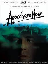 Apocalypse Now (Blu-ray Disc, 2010, 3-Disc Set)