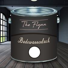 The Flynn 2K Badewannenlack Weiß hochwertige Badewannenfarbe GFK SET Weiss