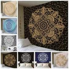 Mandala Tapestry Indian Wall Hanging Decor Beach Bohemian Hippie Cxz Hono_