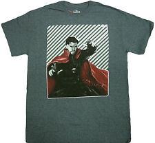 Official Marvel Comics Superhero Doctor Dr. Strange Geometric Noir Adult T-Shirt