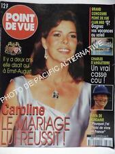 Revue POINT DE VUE n° 2739 magazine de Janvier 2001 Etat Correct caroline monaco