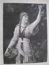 GOLDEN Autunno Emile Eisman-Semenowsky 1894 Print