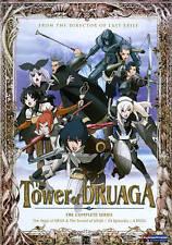 The Tower of Druaga (DVD, 2010, 2-Disc Set)