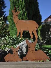 Edelrost Wildtiere verschiedene Modelle Deko Skulptur Tiere
