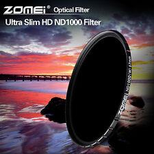 ZOMEI 52/58/67/72/77/82mm HD ND1000 MC Glass Neutral Density Filter