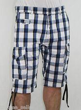 Diesel Mens Fashion ENSOR B SHO Regular Fit Plaid Shorts Pants Trousers NWT