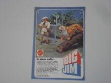 advertising Pubblicità 1978 BIG JIM SAFARI MATTEL