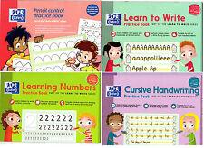 Oxford aprender a escribir libros cursiva escritura cursiva práctica de control de lápiz