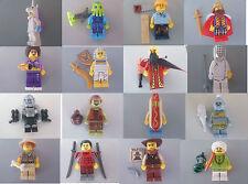 Lego  Minifigure    Varie serie da collezione   Entra nel negozio e scegli
