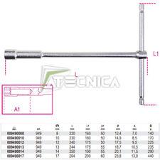 Chiave a T profonda con bussola esagonale Beta 949 da 8 a 17 mm cromata