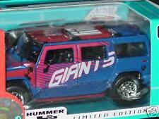 2004 NFL Die Cast Hummer H2, New York Giants, NEW