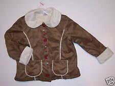 NWT Gymboree Mountain Cabin Shearling Coat Jacket 2T