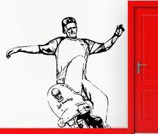 Wall Sticker Vinyl Decal Skateboard Street Extreme Urban Sport Cool Decor z2452