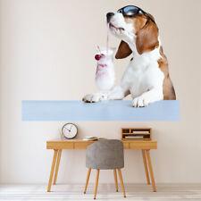 Koktajl Pies Naklejka Na ścianę WS-43096