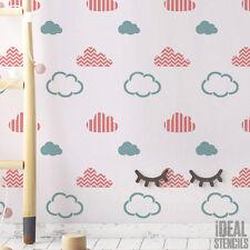 Cloud motivo Stampo MURO DEL VIVAIO decorazione su misura arredo casa