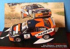 SEAT CORDOBA WRC #2 BLAZQUEZ MERCADER RALLY RAC NAVARRA