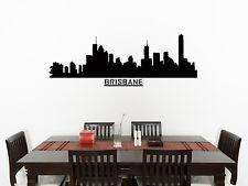 Brisbane Skyline living salle à manger chambre décalcomanie autocollant Art mur