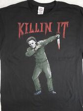 Michael Myers Halloween Dab Dabbing Killin It Horror Movie T-Shirt