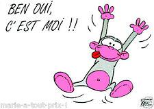 rigolote carte postale TIPSY Ben oui c'est moi !!! humour
