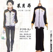 Subaru Natsuki Cosplay Costume Anime Re:Zero kara Hajimeru Isekai Seikatsu