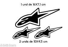 Vinilo decorativo #663# ALPINESTAR pegatinas CASCOS motos COCHES stickers